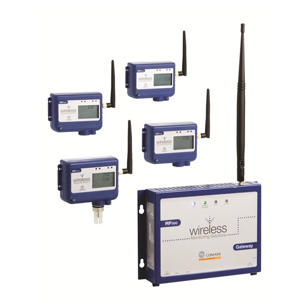 Humidity Monitoring System : Comark rf a gateway for wireless monitoring system