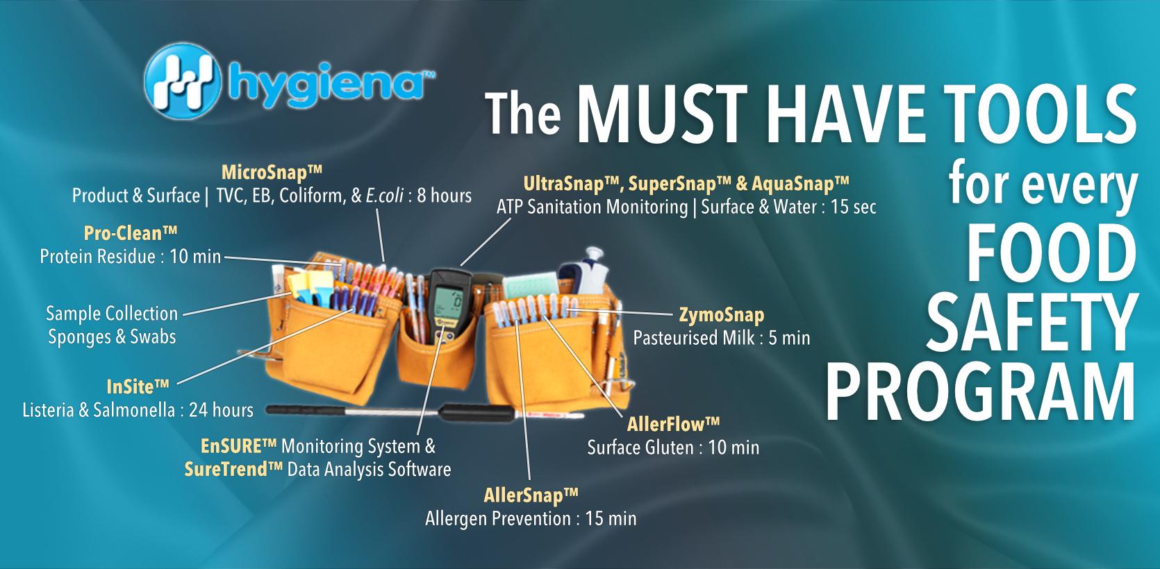 Hygiena, Testo, Anton Paar, Comark, Atago, Cooper-Atkins, A&D Weighing, tempmate, DeltaTrak, Morinaga, Rheintacho, Interscience, Micro Essential, Climet, Nissui Pharmaceutical