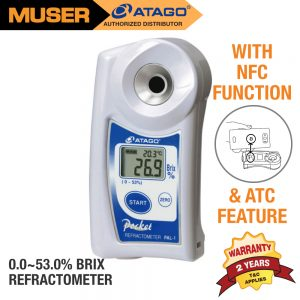Atago Malaysia PAL-1 Digital Pocket Refractometer
