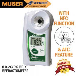 Atago Malaysia PAL-3 Digital Pocket Refractometer