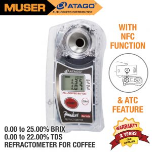 Atago Malaysia PAL-COFFEE (BX/TDS) Digital Pocket Refractometer