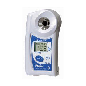 Atago Malaysia | 3810A PAL-1 BLT/A+W (Bluetooth) | Brix 0~53%, Temperature 10~100゚C