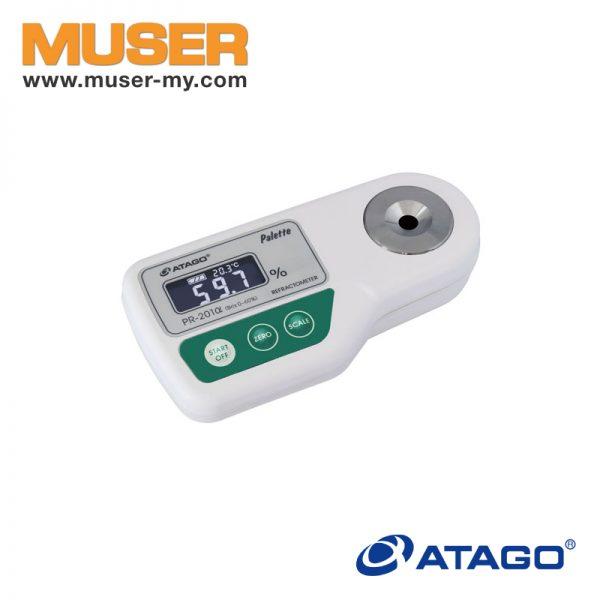 Atago Malaysia   3452 Digital Refractometer PR-201α   Brix 0~60%