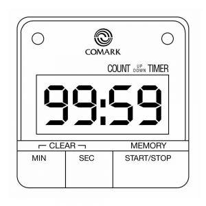 Comark Malaysia UTL264 Kitchen Countdown Timer | 99-min:59-sec Capacity