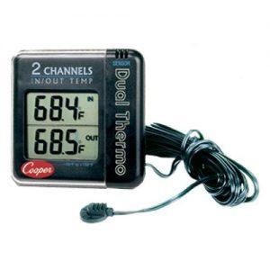 Cooper-Atkins Malaysia IO70 Digital w/Remote Sensor Thermometer | Ext.-58°~158°F, Int.32°~122°F