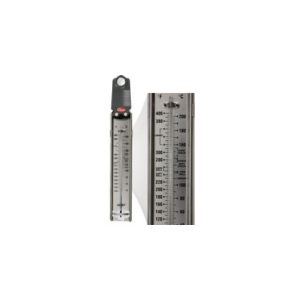 Cooper-Atkins Malaysia 329 Glass Tube Candy Deep-Fry Paddle Thermometer 100°~400°F/40°~200°C