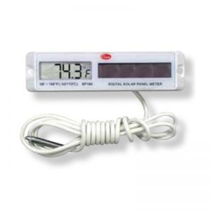 Cooper-Atkins Malaysia SP160-01 | Rectangular White Solar Panel Thermometer -58°~158°F/-50°~70°C
