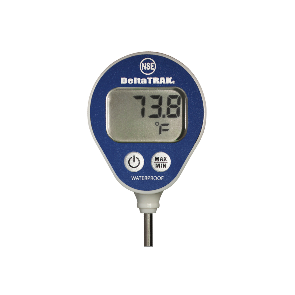 DeltaTrak Malaysia 11050 | FlashCheck® Waterproof Lollipop Min/Max Thermometer -40°F~311°F/-40°C~155°C