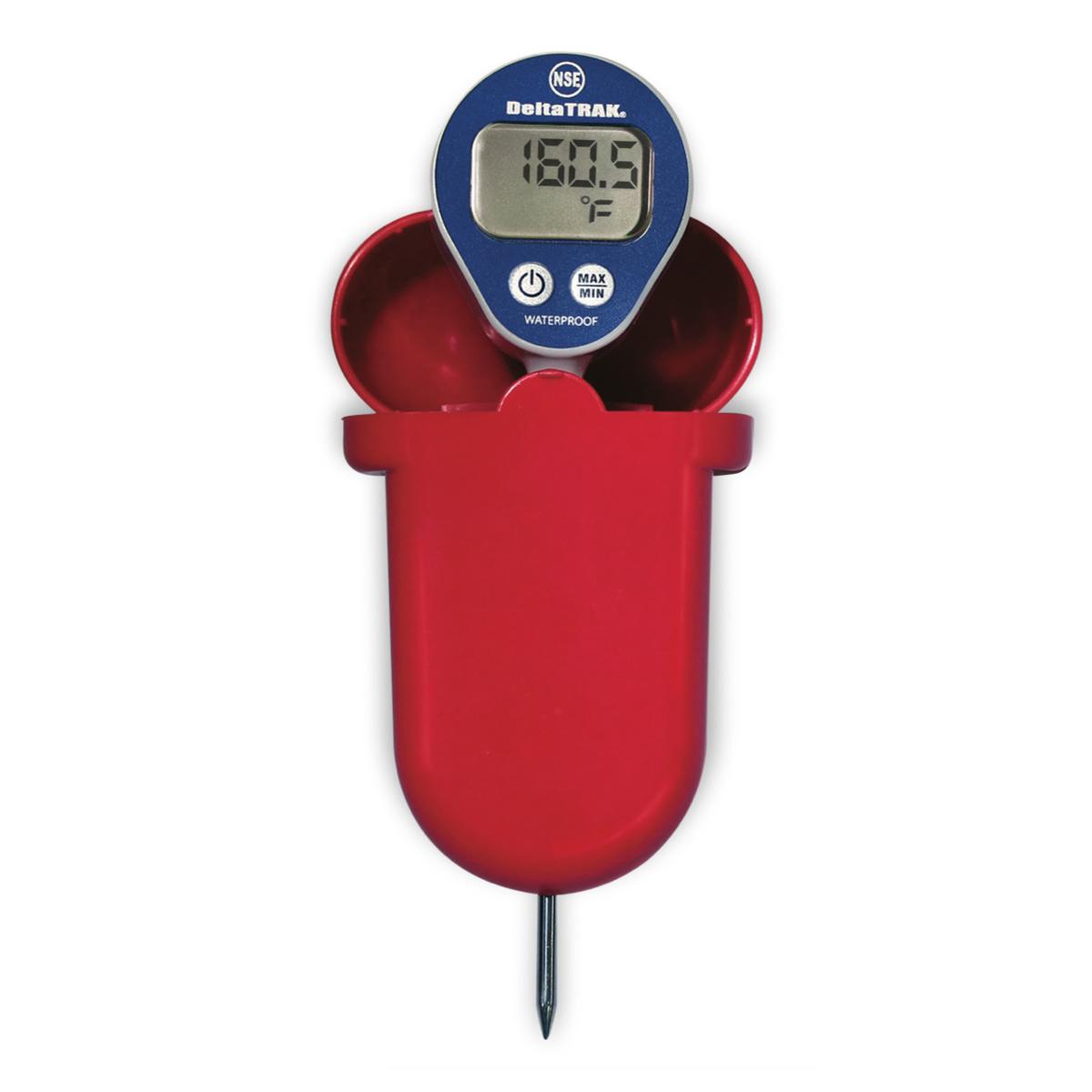 DeltaTrak Malaysia 12214 | FlashCheck® Waterproof Dishwasher Thermometer Kit -40°F~311°F/-40°C~155°C
