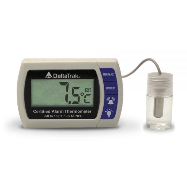DeltaTrak Malaysia 12215 | FlashLink® Certified Alarm Thermometer | -58°F~158°F/-50°C~70°C