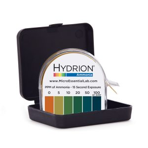 Micro Essential Malaysia | Hydrion (AM-40) Ammonia Test Paper