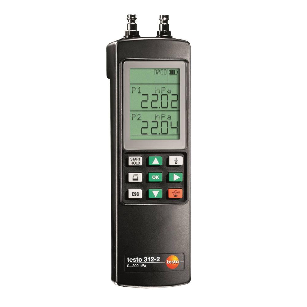 testo Malaysia 312-2 | Precision Pressure Measuring Instrument