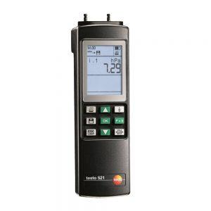 testo Malaysia 521-2 | Differential Pressure Measuring Instrument (0.1% f.v.)