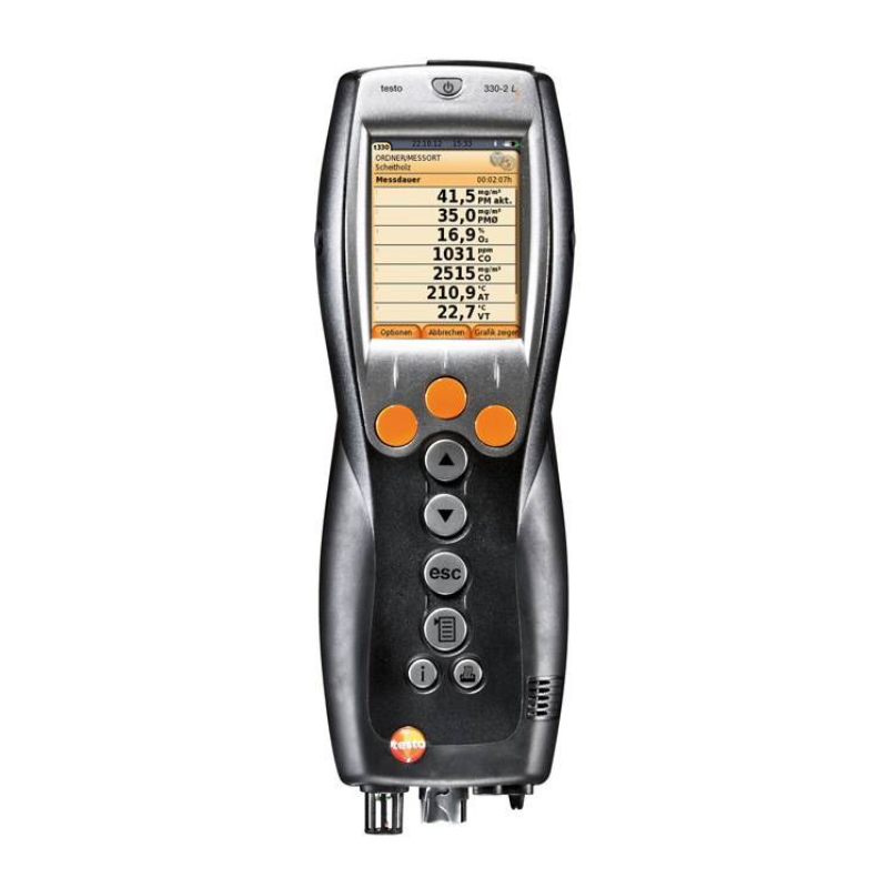 testo Malaysia 330-1 LL   Flue Gas Analysis Set w/Bluetooth