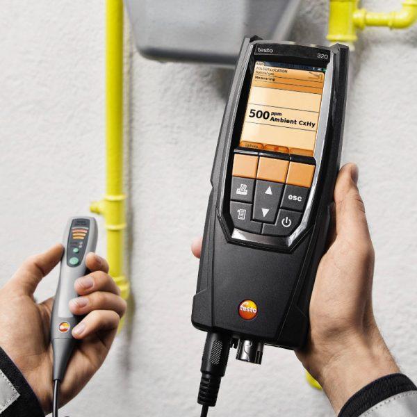 testo Malaysia 320   Super Efficient Flue Gas Analyzer