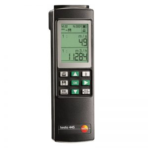 testo Malaysia 445 | Climate Measuring Instrument (6 Parameters)