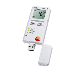 testo Malaysia 184 G1 | Shock, Humidity & Temperature Data Logger - Transport Monitoring