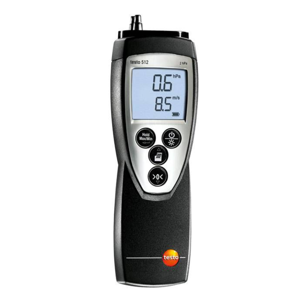 testo Malaysia 512 | Differential Pressure Meter | 0~20hPa