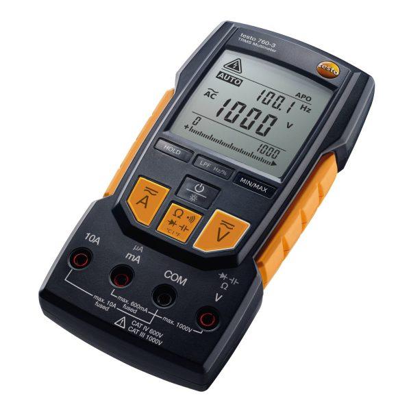 Testo Multimeters – Testo 760-3 – Digital Multimeter 01