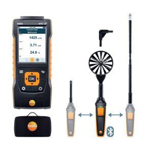 testo Malaysia 440 delta P Air Flow ComboKit 2 w/Bluetooth