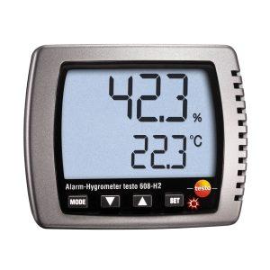 testo Malaysia 608-H2 | Thermohygrometer w/ LED Alarm