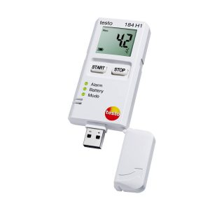 testo 184 H1 | Air Humidity & Temperature Data Logger | Transport Monitoring