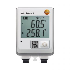 testo Saveris 2-T3 | WiFi Data Logger w/ Display & 2 TC Temperature Probe Connections