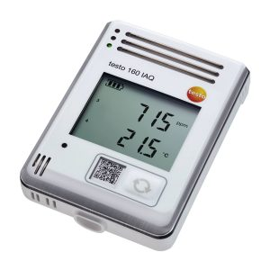 testo 160 IAQ | WiFi Data Logger | Display & Integrated Sensors - Temperature, Humidity, CO2 & Atmospheric Pressure