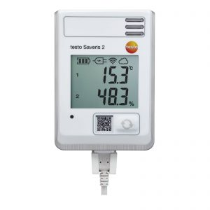 testo Saveris 2-H1 | WiFi Data Logger w/ Display | Integrated Temperature & Humidity Probe