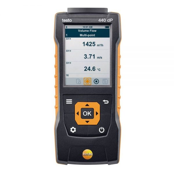 testo Malaysia 440 dP | Air velocity & IAQ Measuring Instrument