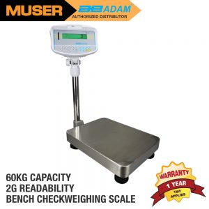 Adam Malaysia GBK 60 Bench Checkweighing Scale