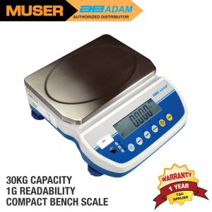 Adam Malaysia LBX 30H Latitude Compact Bench Scales