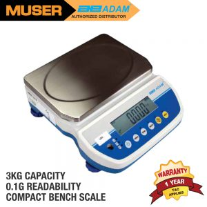 Adam Malaysia LBX 3H Latitude Compact Bench Scales