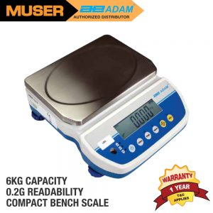 Adam Malaysia LBX 6H Latitude Compact Bench Scales