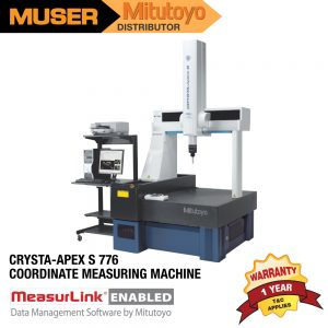 Mitutoyo Malaysia CRYSTA-Apex S 776 Coordinate Measuring Machine