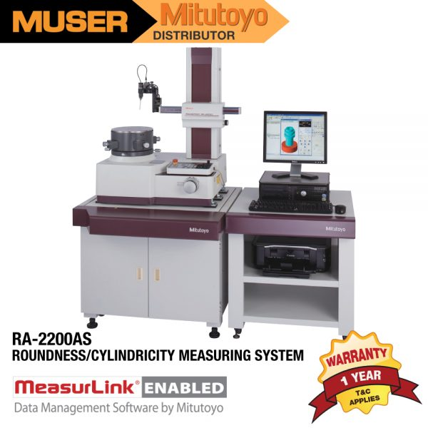 Mitutoyo Malaysia RA-2200AS Roundness/Cylindricity Measuring System