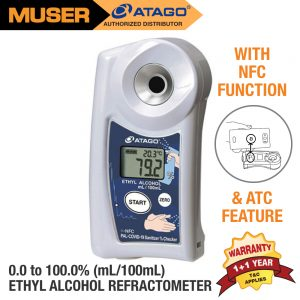 Atago Malaysia PAL-COVID-19 Ethyl Alcohol Refractometer