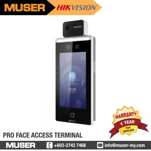 HIKVISION Thermal Detection & Face Recognition Terminal