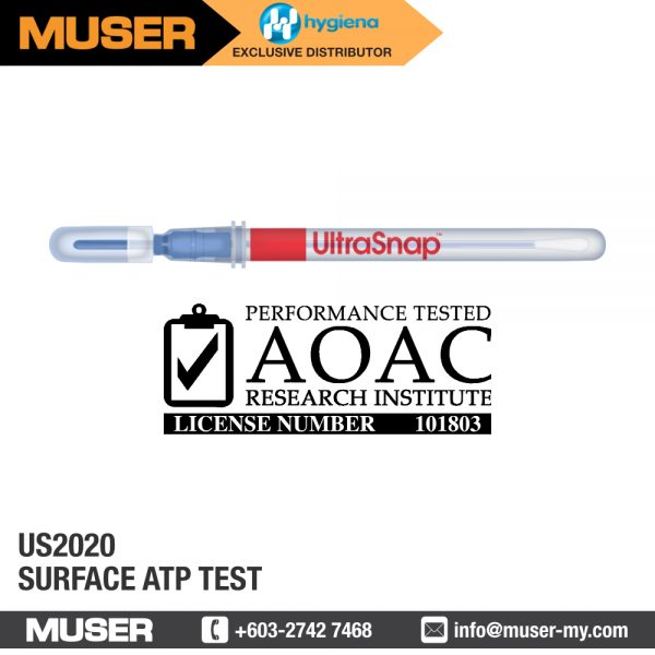 Hygiena Malaysia US2020 Surface ATP Test | Rapid Hygiene Monitoring