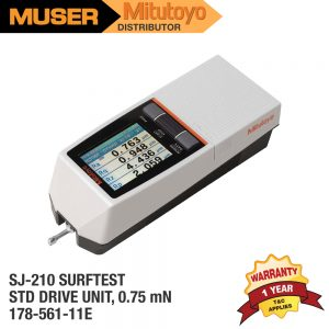 Mitutoyo Malaysia SJ-210 Surftest Portable Surface Roughness Tester