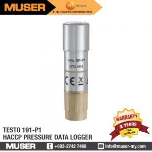 Testo Malaysia 191-P1 HACCP Pressure Data Logger