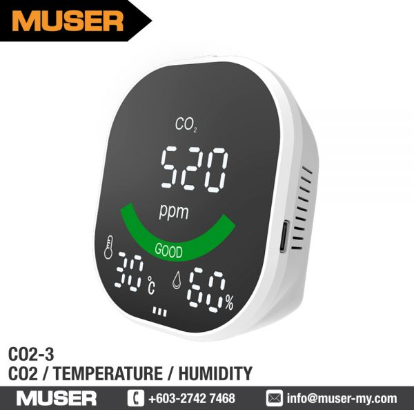 CO2-3 Carbon Dioxide Monitor